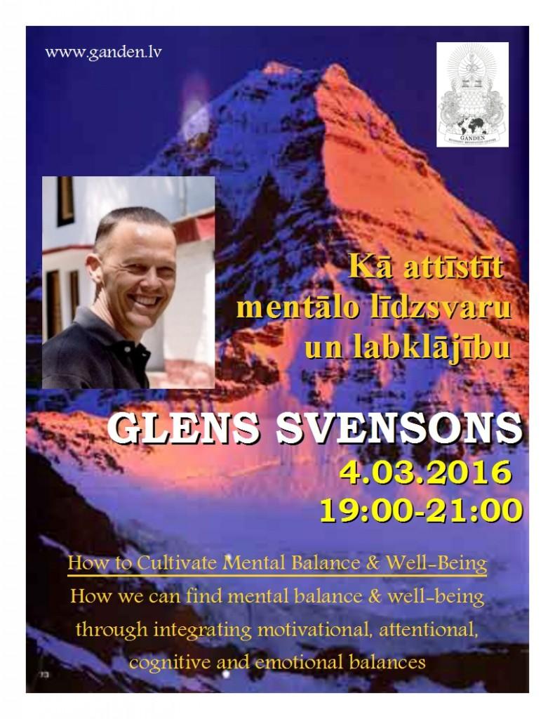 Glens Svensons 2016