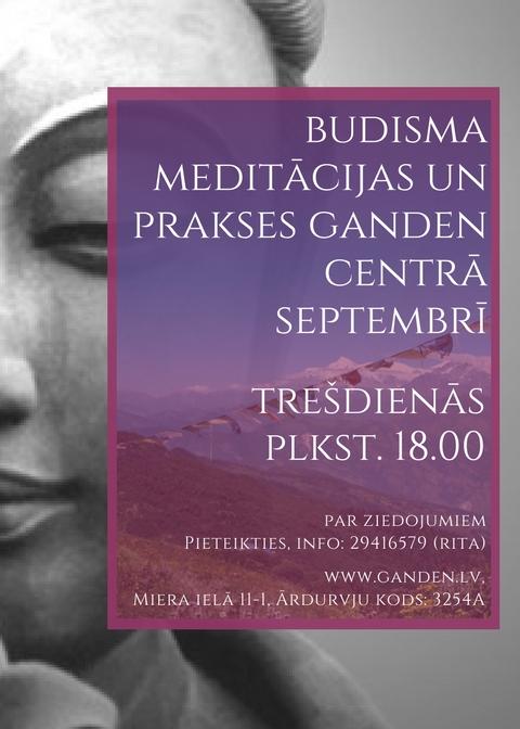 Meditācijas septembri