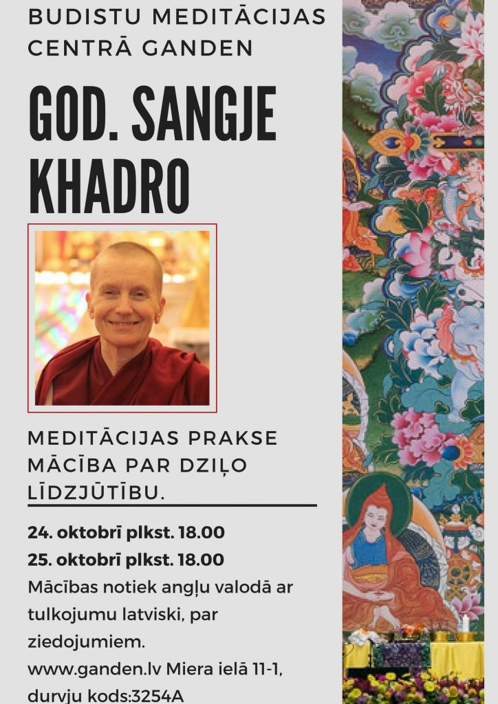 god. Sangje Khadro
